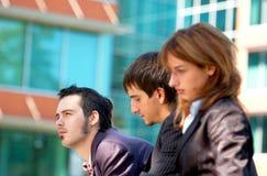 Trio 2 do negócio imagens de stock royalty free
