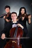 trio arkivbild