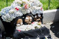 Trio av döda konungar arkivbilder