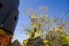 Trio buddha Royalty Free Stock Photo