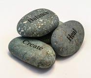 Trio da rocha Foto de Stock Royalty Free