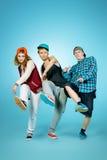 Trio dance Stock Photography