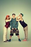 Trio dancer Stock Images