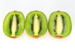 Trio de kiwi Photos stock