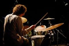 Trio de Paul Roges no festival 2010 de Koktebel do jazz foto de stock