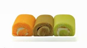 Trio de petit pain de confiture Image libre de droits