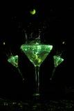 Trio del Martini Fotografia Stock