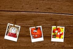Trio di autunno Immagine Stock