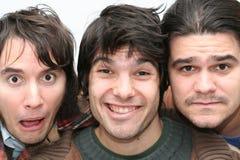 Trio divertente Fotografia Stock