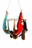 Trio do ` s da mulher no brilho aéreo Foto de Stock Royalty Free