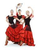 Trio espanhol imagem de stock royalty free