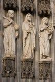 Trio fait en pierre photographie stock