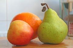 Trio Of Fruits Royalty Free Stock Photo