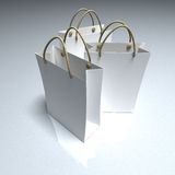 Trio of shopping bags Royalty Free Stock Images