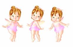 Trio superiore della carota royalty illustrazione gratis