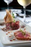 Trio of tuna Stock Photos