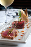 Trio of tuna Royalty Free Stock Image