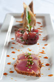 Trio of tuna Royalty Free Stock Images