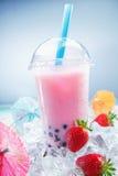 Trio van kleurrijke tropische cocktails royalty-vrije stock fotografie
