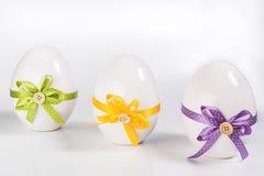 Trio van oostelijke eieren Stock Afbeelding