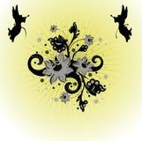 Triomf van engelen stock illustratie