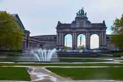 Triomfantelijke Boog Brussel België royalty-vrije stock afbeeldingen
