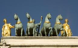 triomphe дуги carrousel de du Стоковые Фото