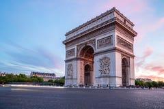 Triomphe巴黎弧  免版税库存图片