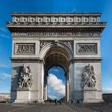 triomphe för bågde paris Fotografering för Bildbyråer