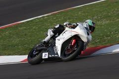 Trionfo Daytona 675 Suriano di Vittorio Iannuzzo immagine stock libera da diritti
