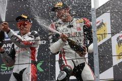 Trionfo Daytona del Alex Baldolini Suriano del podio Fotografia Stock Libera da Diritti