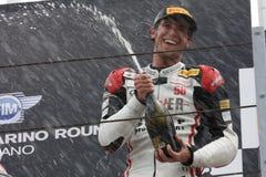 Trionfo Daytona del Alex Baldolini Suriano del podio Fotografie Stock