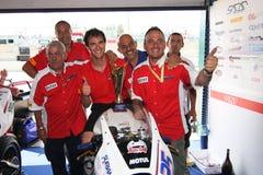 Trionfo Daytona del Alex Baldolini Suriano del podio immagini stock libere da diritti
