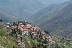 Triora antyczna wioska, prowincja Imperia, Włochy Fotografia Stock