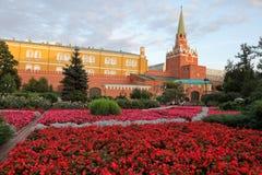 Triotskaya tower in Alexander Garden royalty free stock images