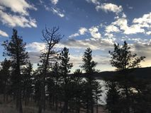 A trip in Beautiful Colorado stock image