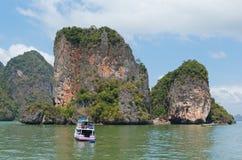 Trip boat Stock Photo