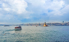 The trip on Bosphorus Stock Photos