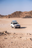 Trip on the desert near Hurghada Royalty Free Stock Images