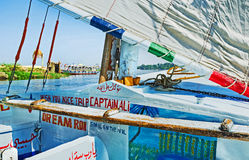 Trip on felucca Stock Photography