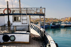Trip on a Fishing Boat royalty free stock photo