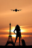 Trip in Paris Stock Photography