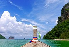 Trip of PhiPhi and Krabi Islands. THAILAND. Stock Photos