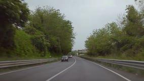 A trip from Pternopoli to Reggia di Caserta stock video