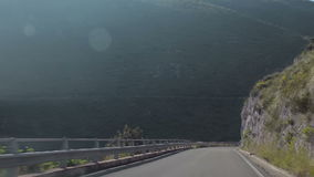 A trip from Pternopoli to Sperlonga stock video