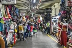 Trip_Public för Baguio Filippinernaväg marknad Royaltyfri Foto