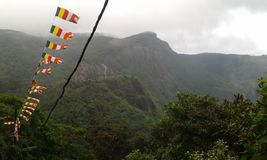 Trip to Adams Peak Royalty Free Stock Photography