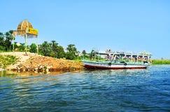 The trip to Banana Island Royalty Free Stock Image