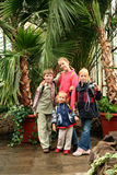 Trip to the conservatory Royalty Free Stock Photography