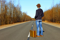 Trip to holiday. Тravel to a week-end Stock Photography